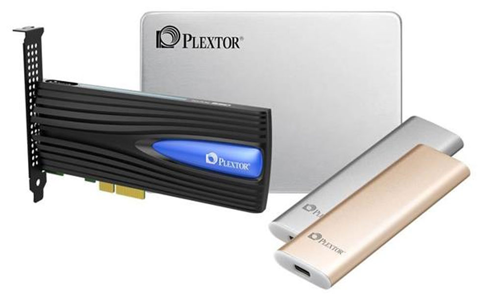Plextor 3D NAND FLash at CES 2017