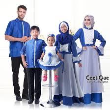Model Baju Muslim Seragam Pesta Keluarga Terbaru