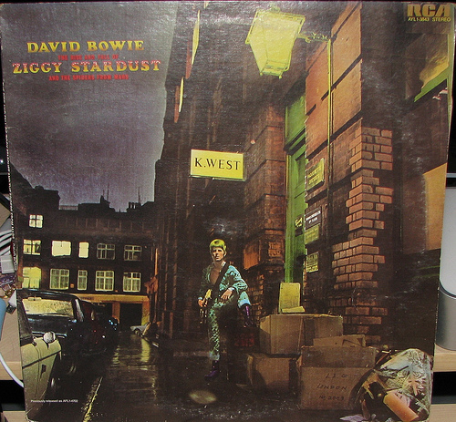 David Bowie - The Rise And Fall Of Ziggy Stardust And The Spiders From Mars (1972) by luna715
