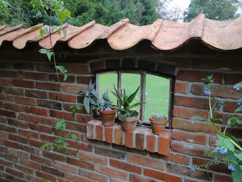 Gartendeko Trend Ruinenmauer