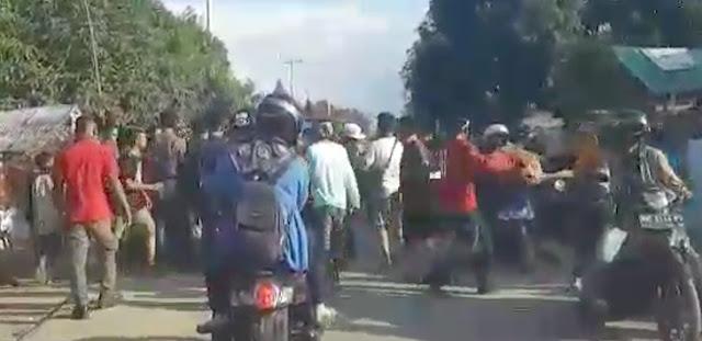 Duh, Bantuan Korban Tsunami Palu Dijarah di Tengah Jalan, Lihat Videonya