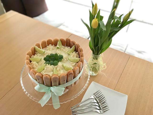 Tort limonkowo-miętowy czyli wiosenne orzeźwienie na naszym stole :)