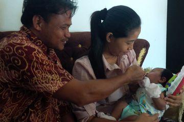 Bayi asal Sragen Bernama Joko Widodo Ma'ruf Viral di Media Sosial