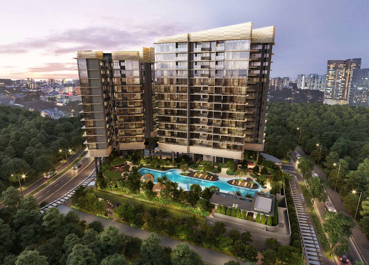 Property Advertisement - One-North Eden Mixed Development Project
