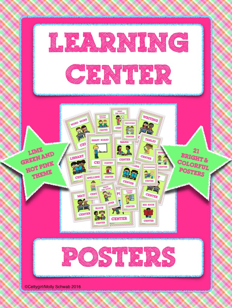 Learning Center Posters