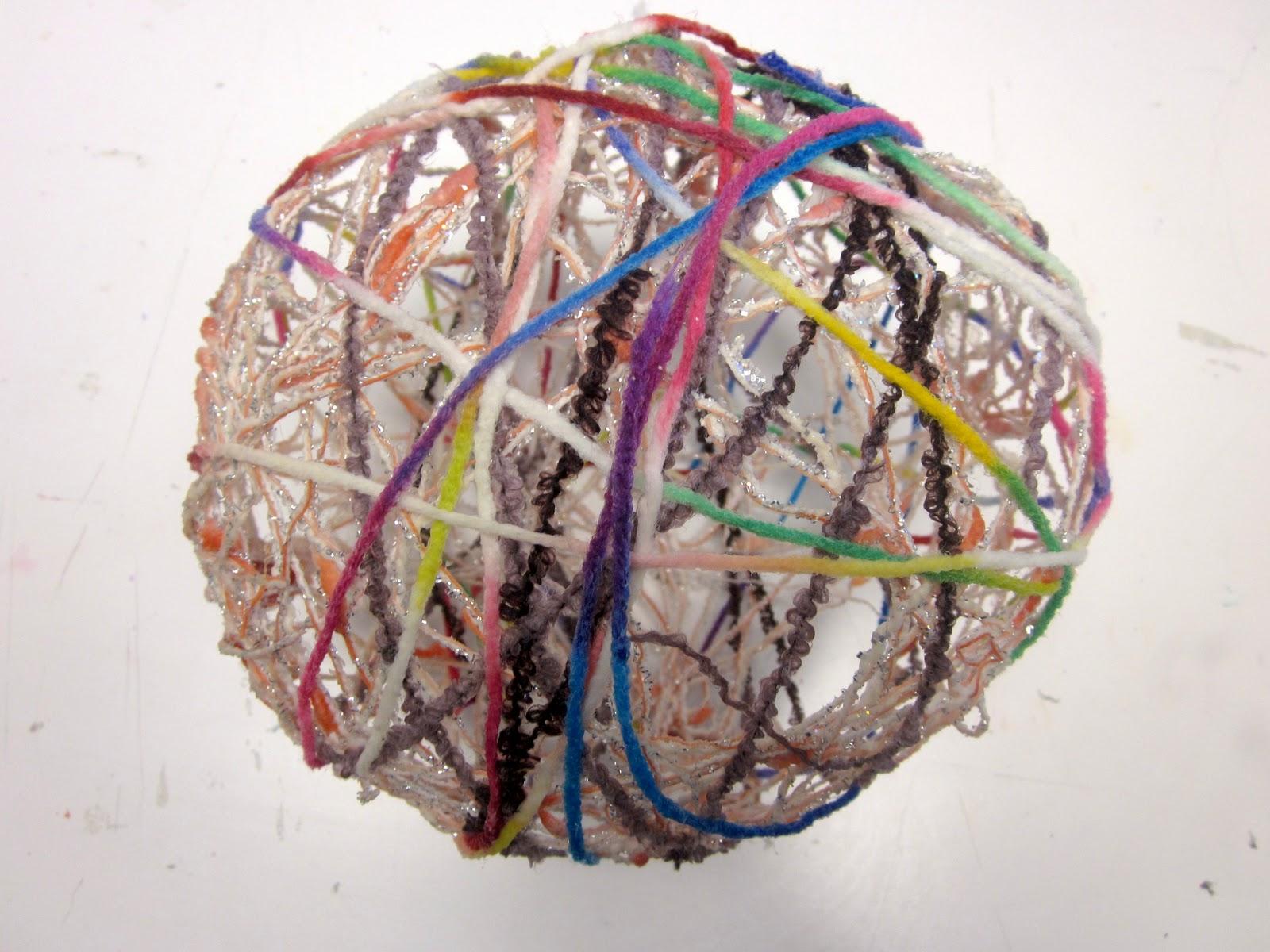 Art Is Basic Art Teacher Blog String Balls Pt 2
