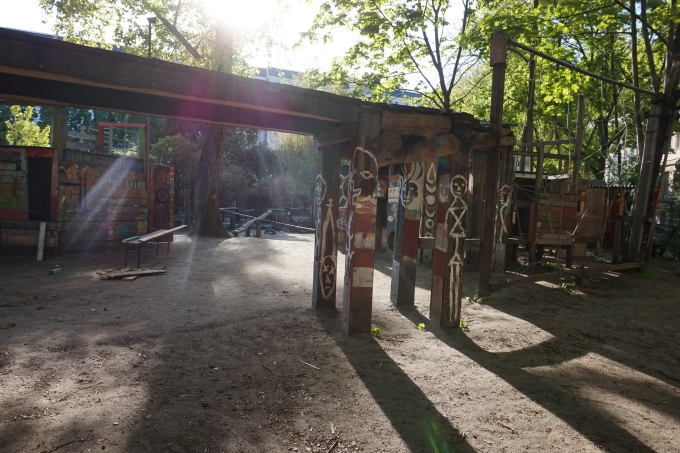 Isompien lasten leikkipaikkoja Berliinissä