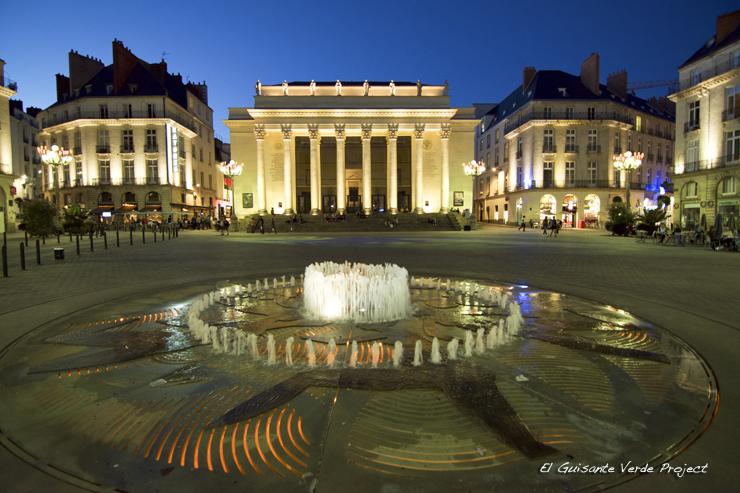 Plaza Graslin - Nantes, por El Guisante Verde Project