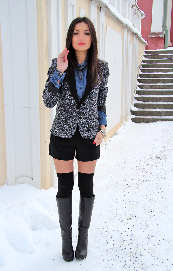Winter Casual Lucine's Blog