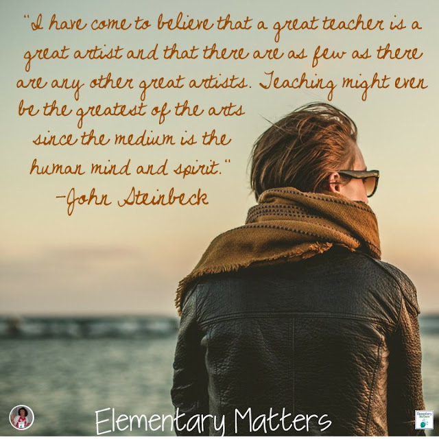 I've GOT This! Some words of encouragement to help teachers get back to school.