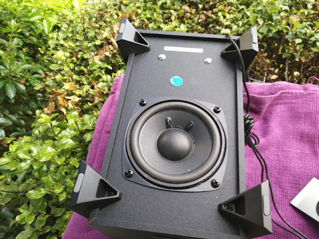 down firing subwoofer