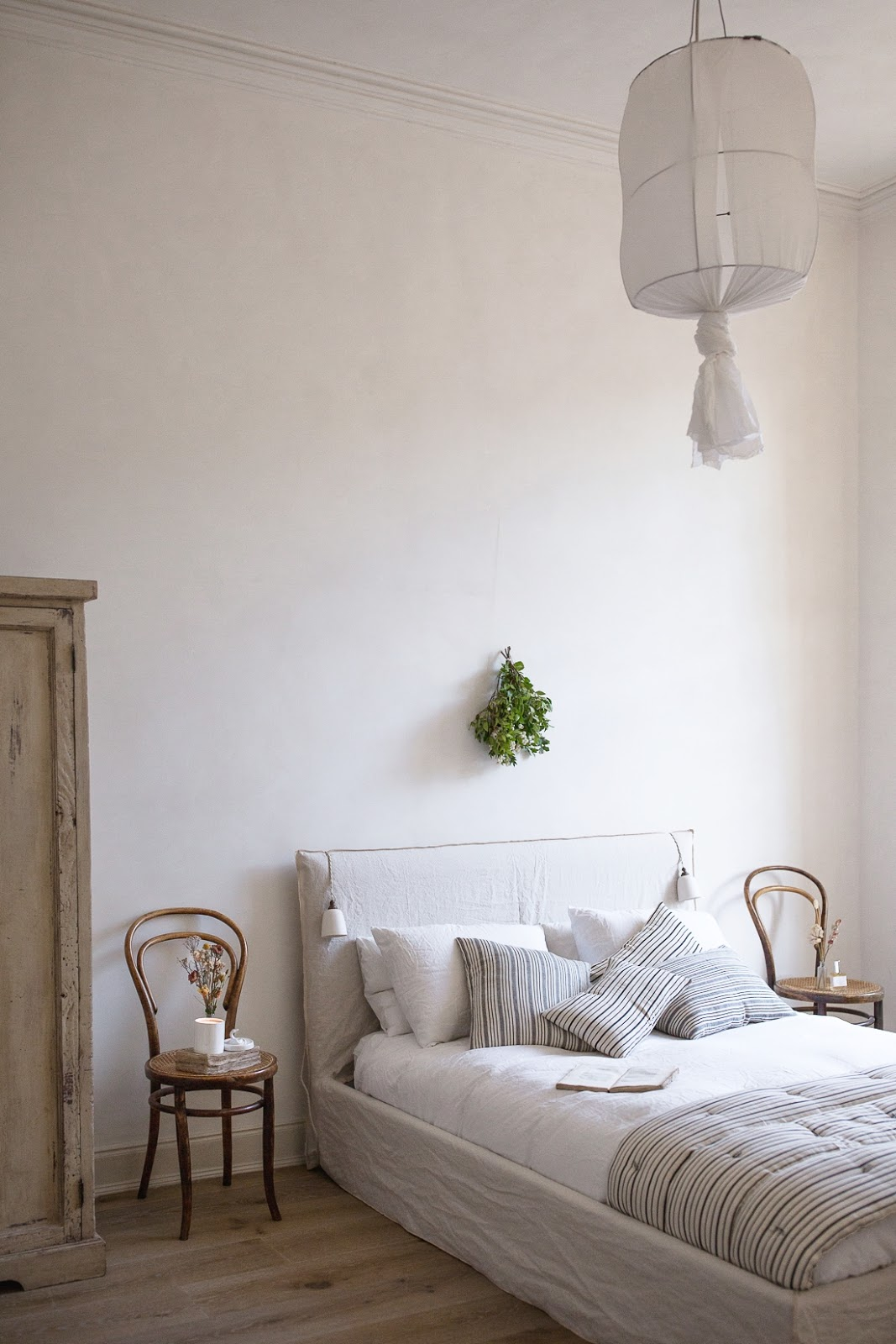 ilaria fatone - a comforting and minimal home - the bedroom
