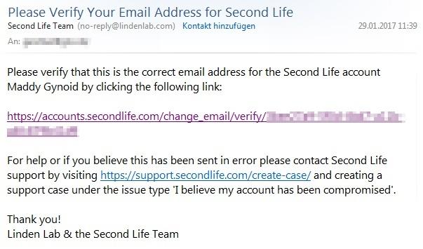 email verifizieren
