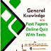 General Knowledge MCQs PDF Guide For NTS and PPSC Tests