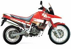 1991 DR800S red side 250 - Suzuki DR800S - a maior monicilindrica do mundo!