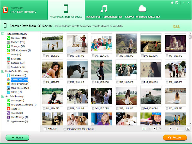 Tenorshare iPhone Data Recovery for Windows