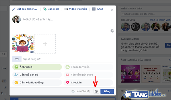 tang thanh vien group tren facebook