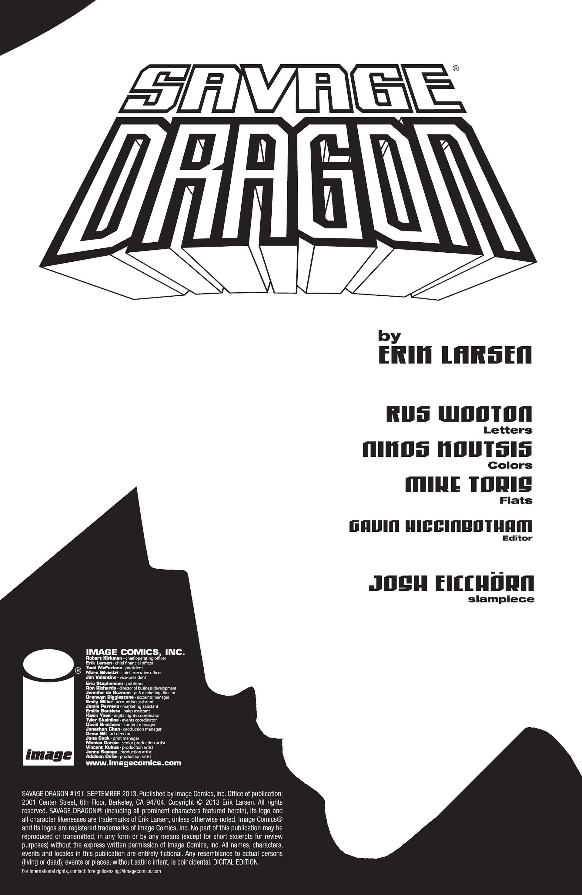 The Savage Dragon (1993) 191 Page 2