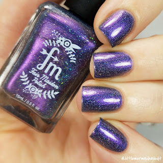 Fair Maiden Polish For The Love Of Polish Fireflies At Twilight Swatches and Review