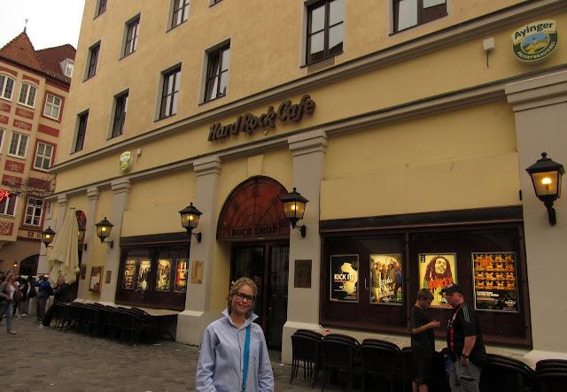 Hard Rock Café Onde comer em Munique Alemanha