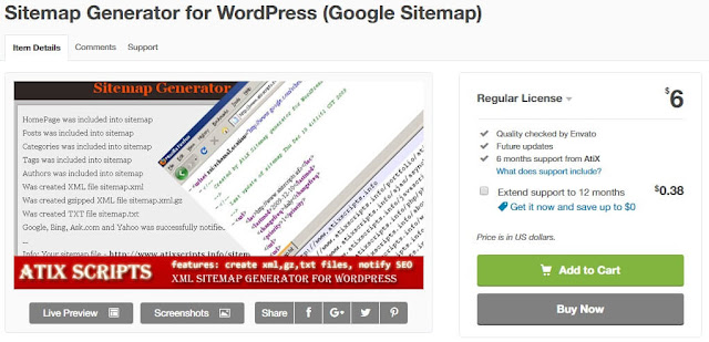 Sitemap Generator For WordPress