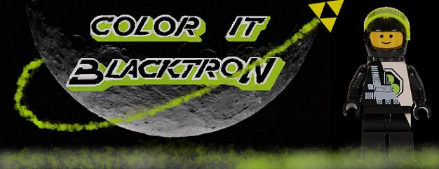 Color it Blacktron
