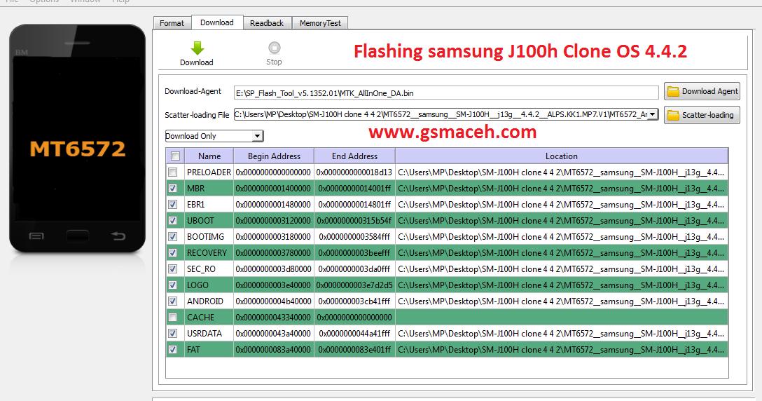 samsung galaxy j1 sm-j100h firmware free download