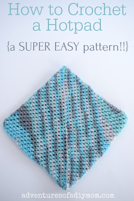 easy crochet hot pad