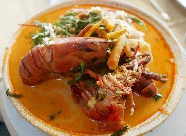 Foto a la sopa de Chupe de camarones riquísimo