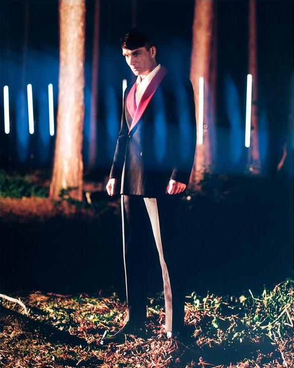 La collection masculine de Stella McCartney avec Cilian Murphy