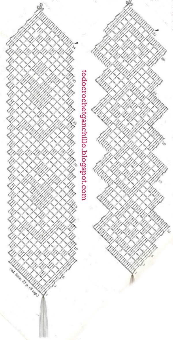 3 Marcadores para libros tejidos al crochet / Tutorial | Todo crochet