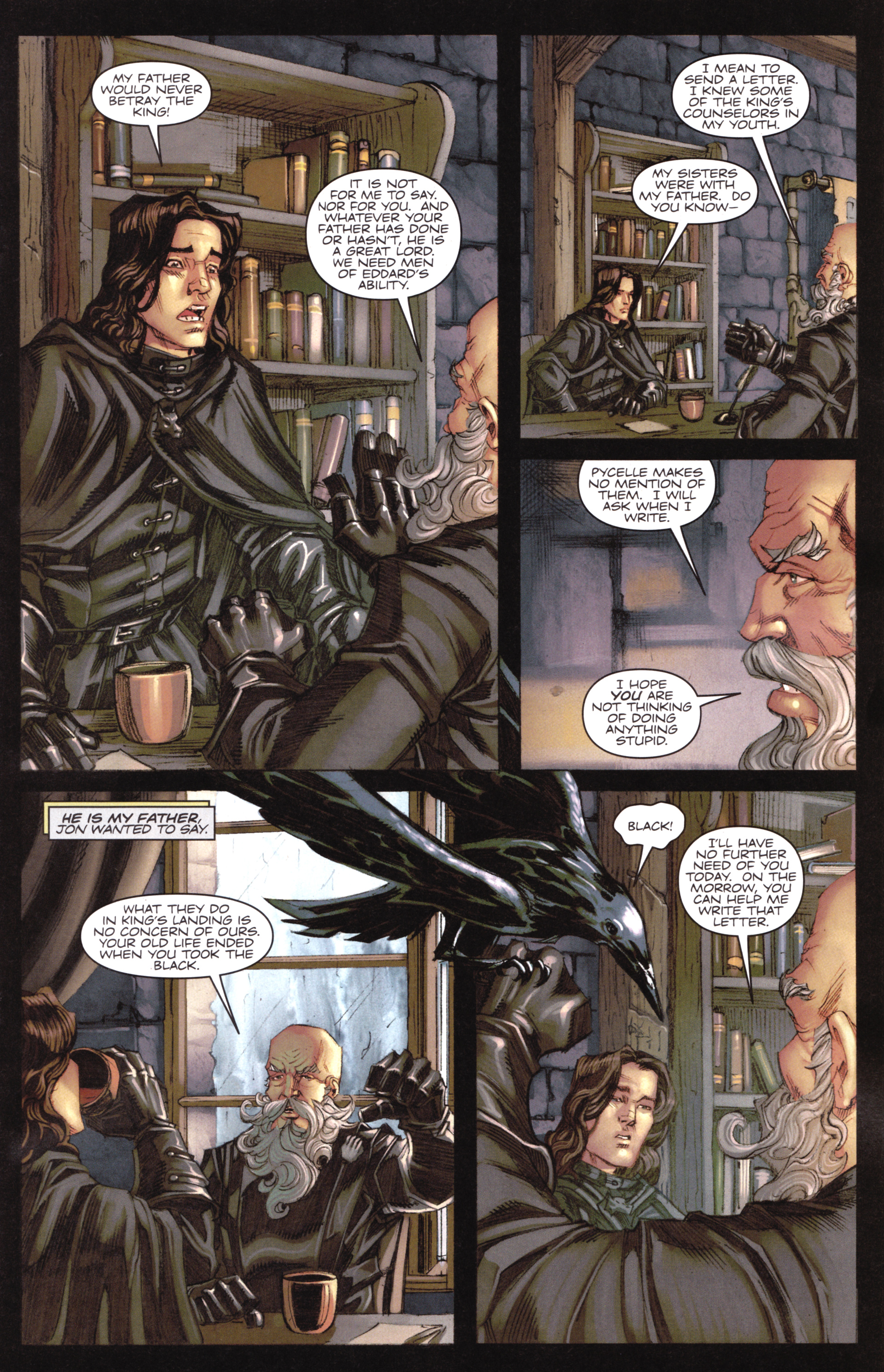 Read online A Game Of Thrones comic -  Issue #17 - 9