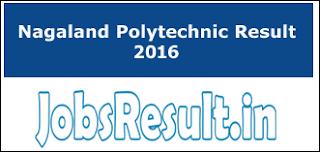 Nagaland Polytechnic Result 2016