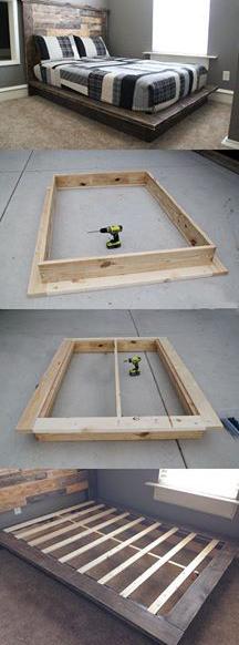 Hazlo Tú Mismo : Cama de madera