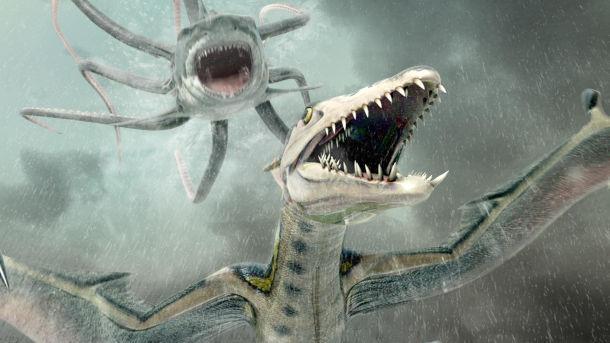 Sharktopus vs Pteracuda