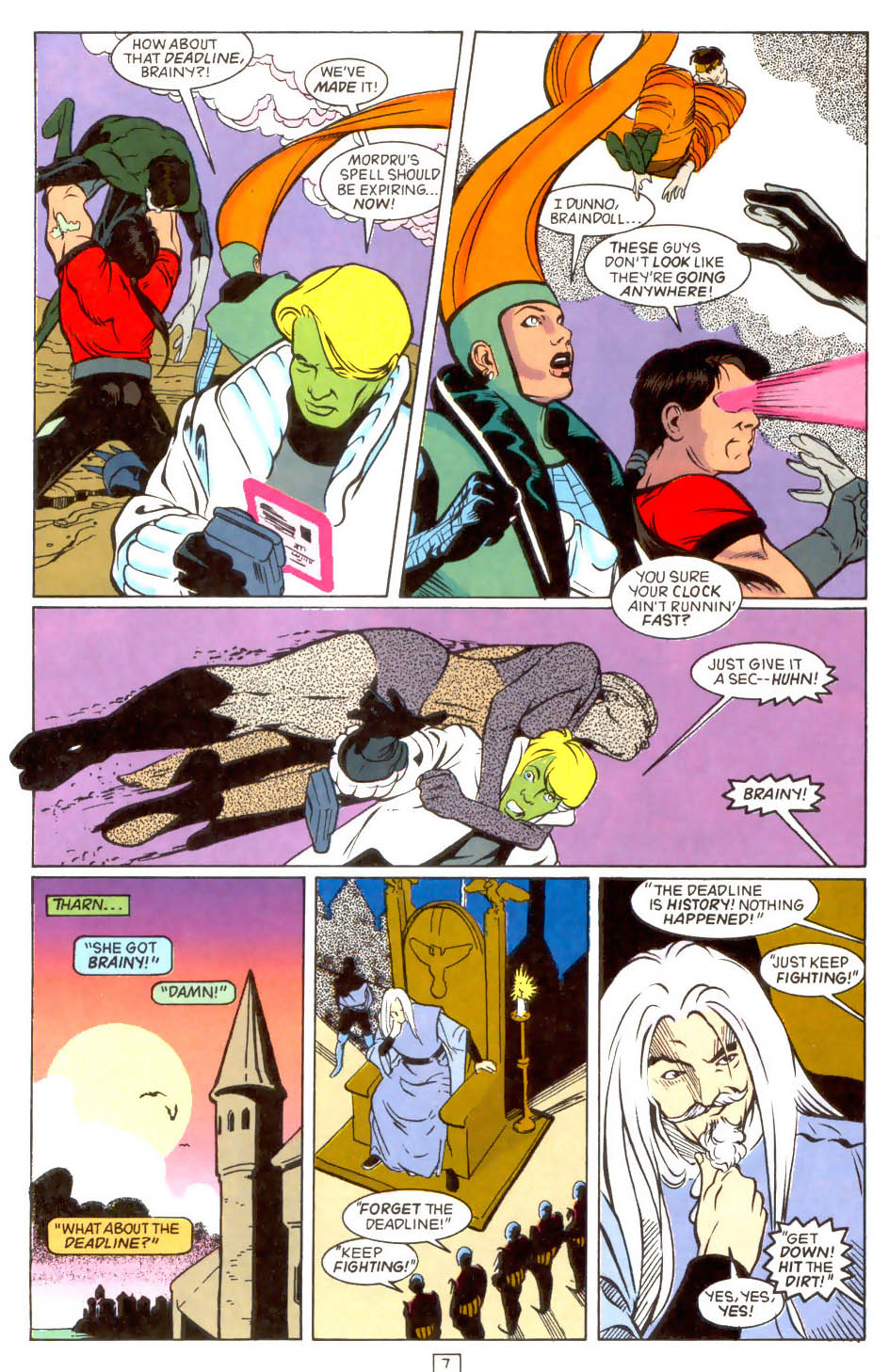 Legion of Super-Heroes (1989) 46 Page 7