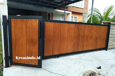Harga Pintu Besi Kombinasi Kayu dan Berbagai Macam Model Terbaru