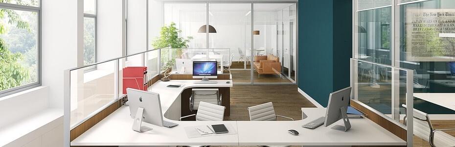 trang trí phòng làm việc hiện đại