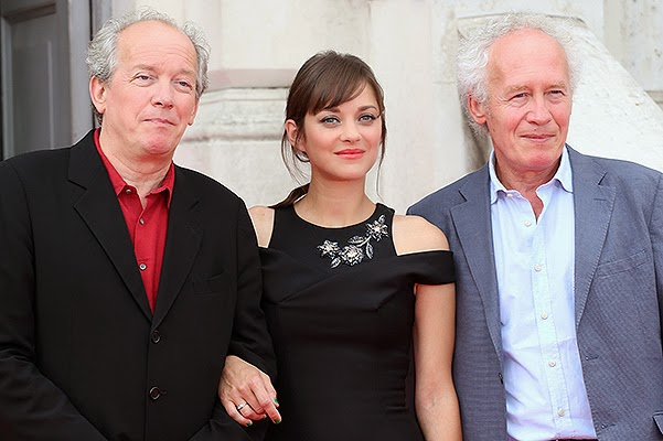 With film directors, brothers Dardenne