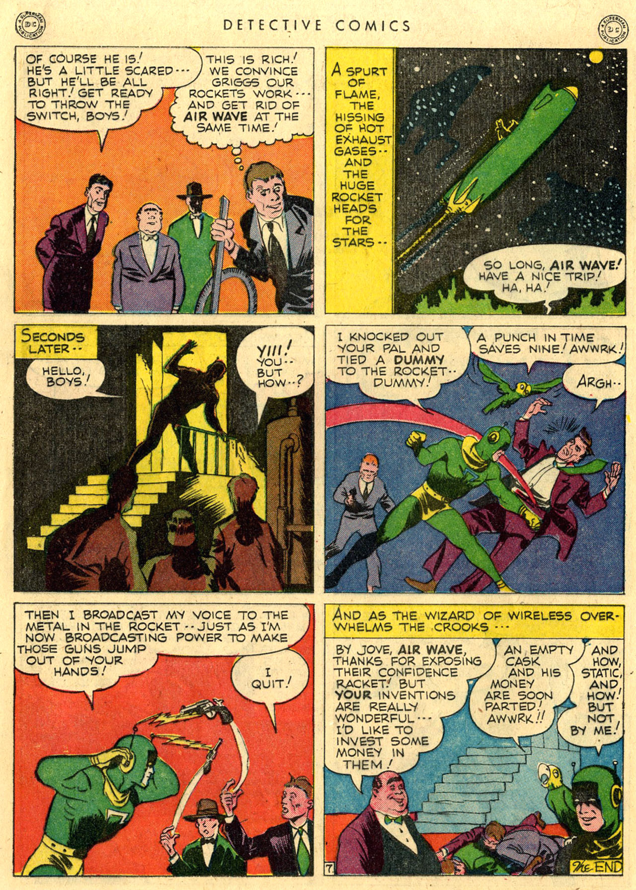 Read online Detective Comics (1937) comic -  Issue #118 - 34