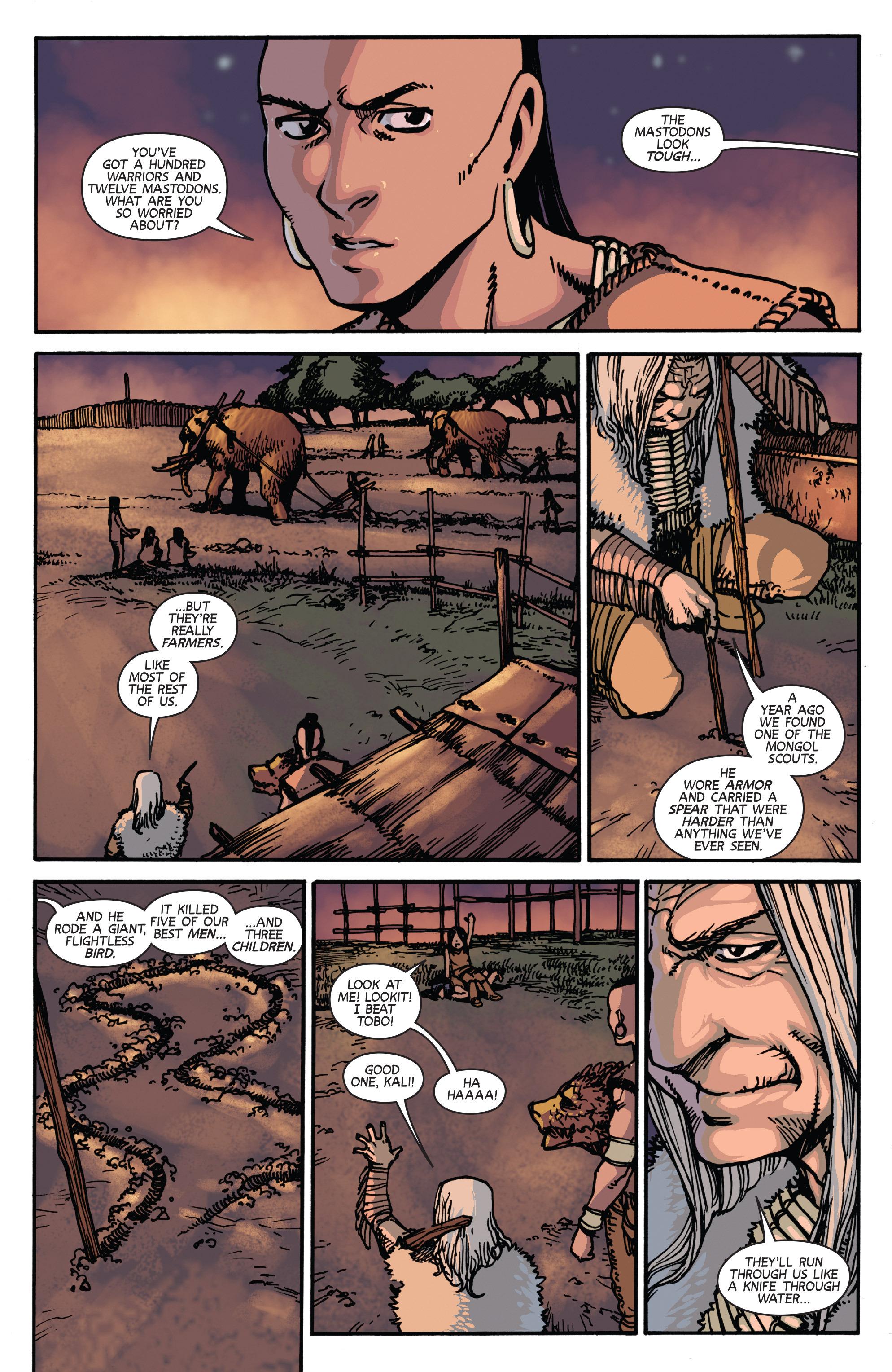 Read online Turok: Dinosaur Hunter (2014) comic -  Issue # _TPB 2 - 48