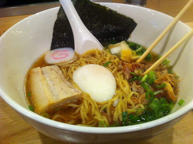 Momofuku Ramen, Pork Belly, Pork Shoulder, Poached Egg