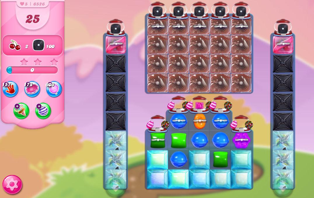 Candy Crush Saga level 6526