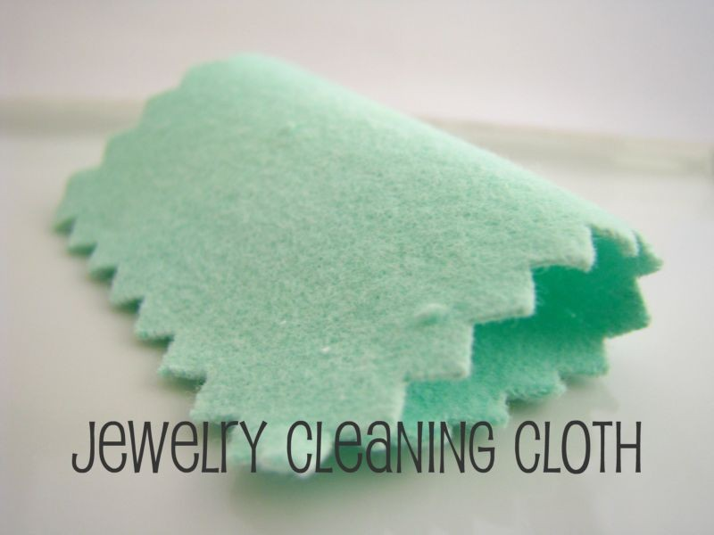 360Jewels: Jewelry Cloth : Clean Tarnish Silver