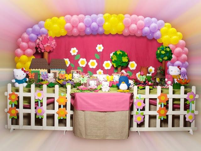 decoração Hello Kitty