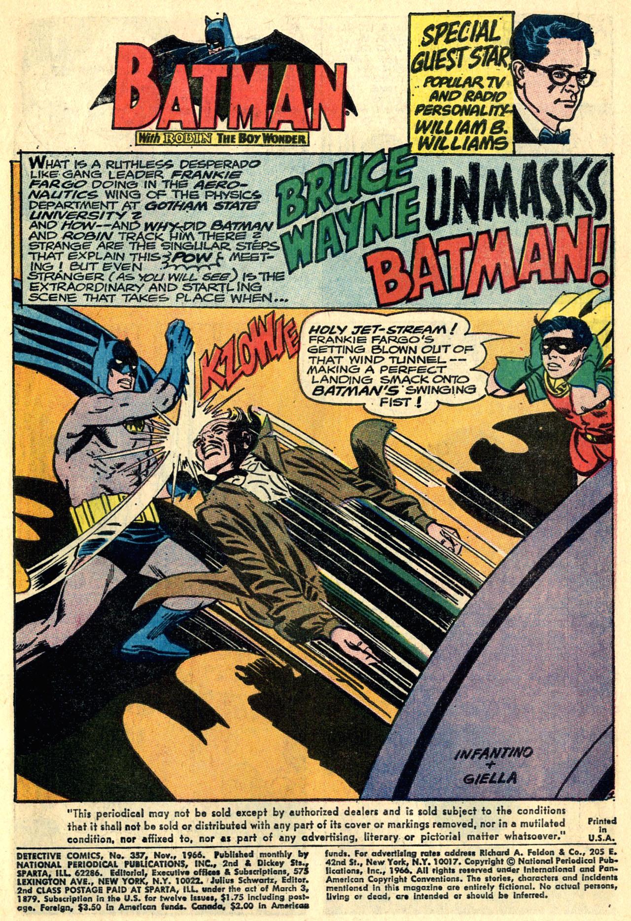 Detective Comics (1937) 357 Page 2