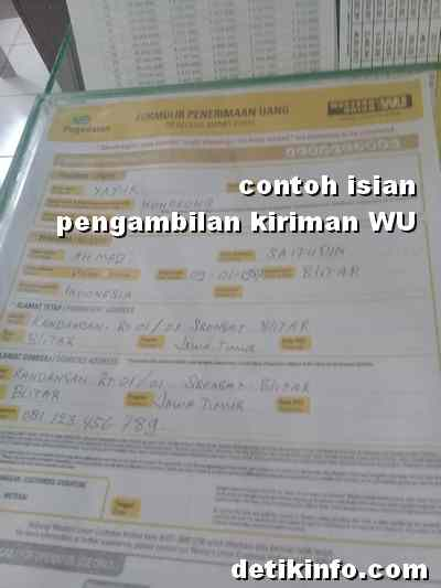 Syarat pengambilan uang di Western Union - cryptonews.id