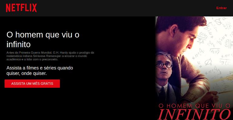 """Filme """"O homem que viu o infinito"""" está disponível no Netflix"""