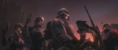 """Los soldados clon de la Bad Batch en nuevas imágenes de la séptima temporada de """"Star Wars: The Clone Wars""""."""