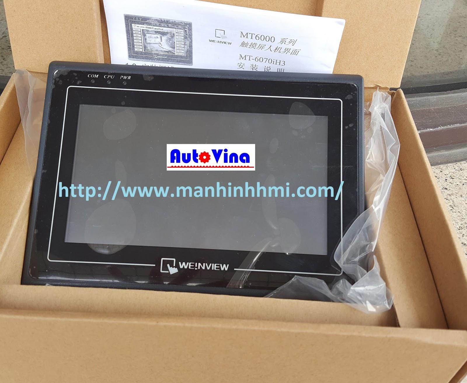 Đại lý bán màn hình cảm ứng HMI Weintek MT6070iH
